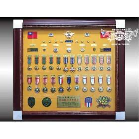 陸軍 海軍 空軍 客制化勳獎章禮框  榮退框
